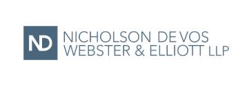 Nicholson De Vos Webster & Elliott LLP